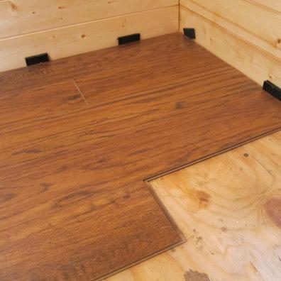Installing the floor