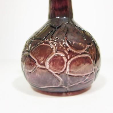 Crackle vase detail
