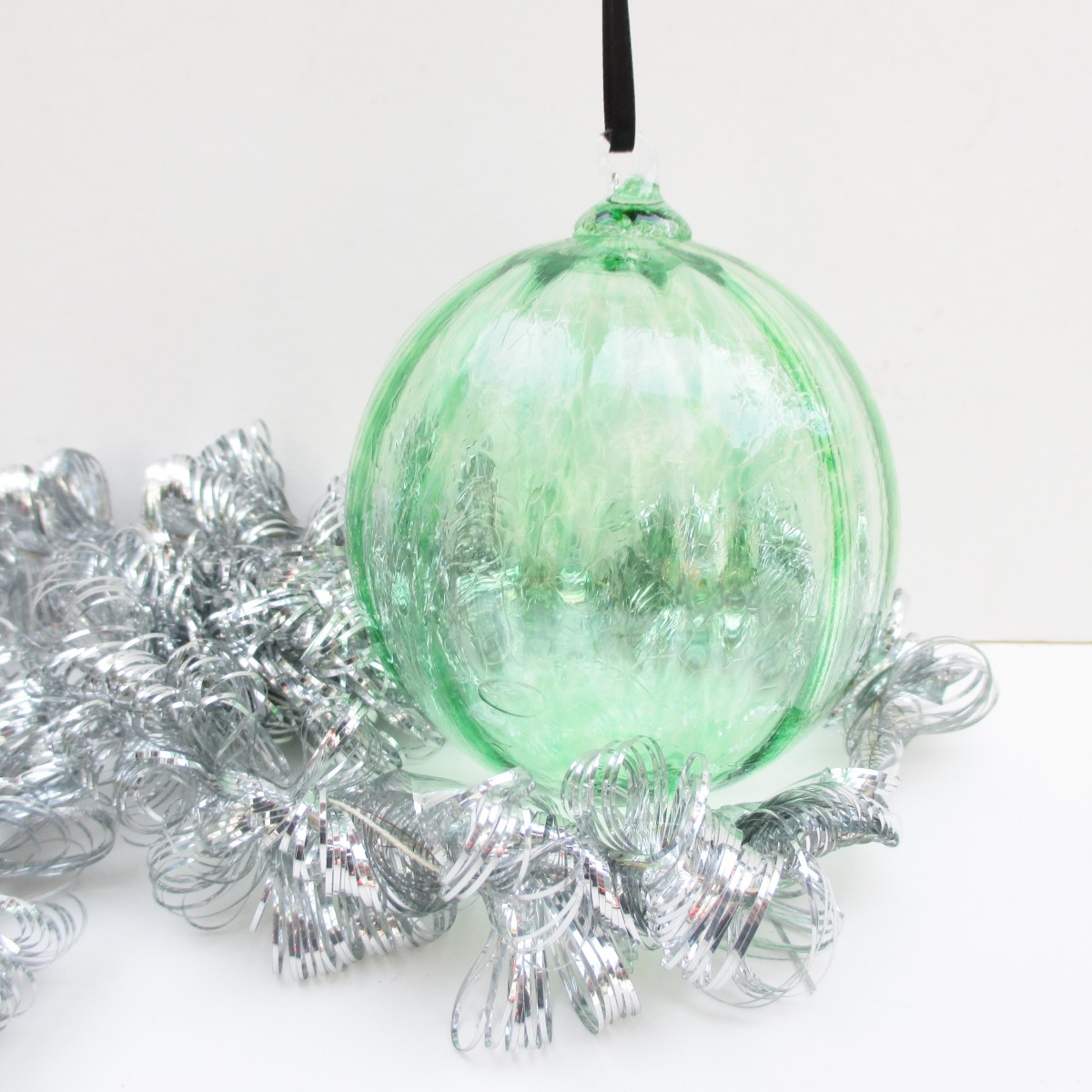 blown glass ornament